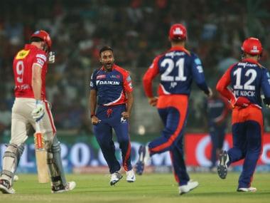 Amit Mishra bowled a brilliant spell for Delhi Daredevils. BCCI