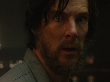 Benedict Cumberbatch in and as 'Dr Strange'. Screen grab from YouTube