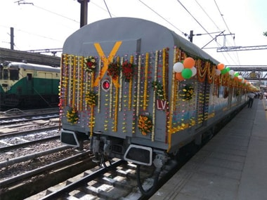 India's first semi-bullet train. IBNLive