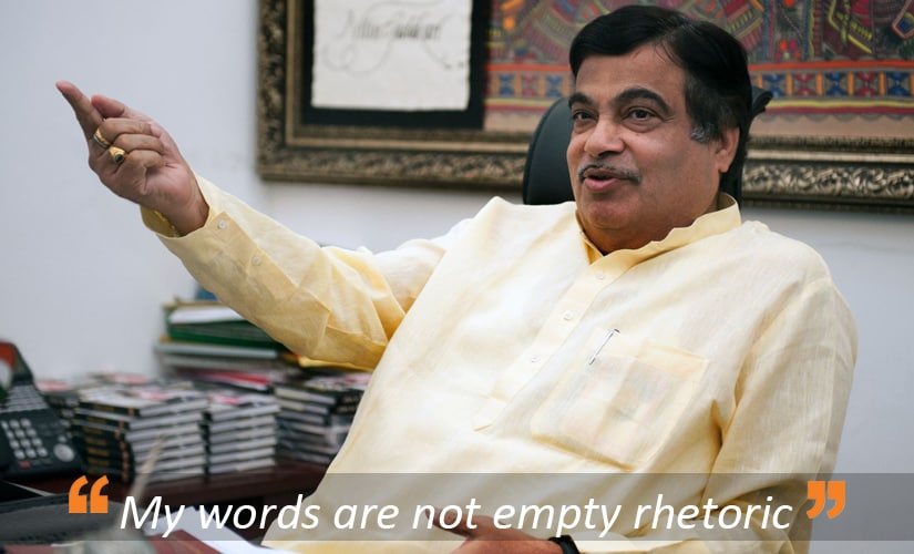 Nitin Gadkari, a man who can't stop dreaming of an Indian wonderland: A Firstpost exclusive
