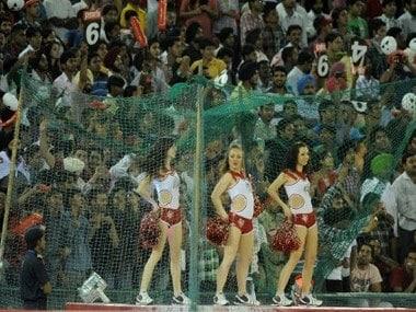 Crowds at the IPL. AFP
