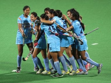 Indian women's hockey team. Reuters
