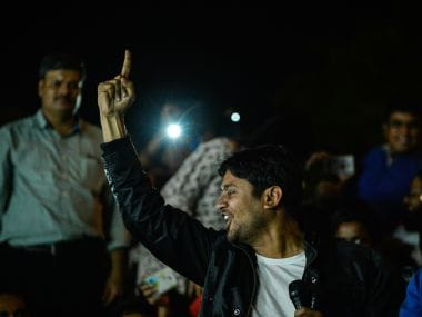 JNUSU president Kanhaiya Kumar. AFP