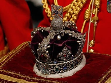 The Kohinoor diamond. File photo. Getty images