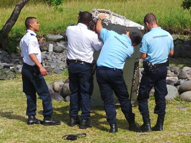 File image of MH370 debris. Reuters