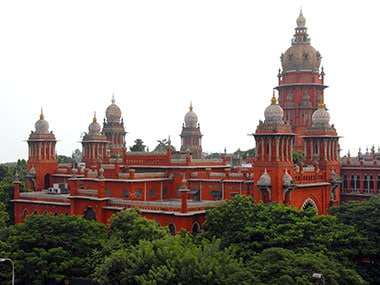 Image of Madras High Court. Wiki commons