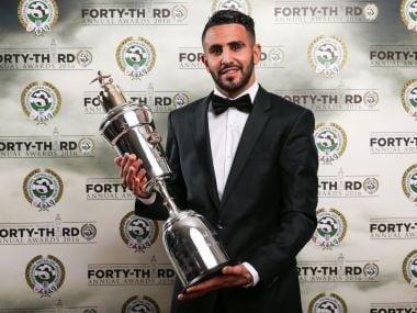 Leicester City's Riyad Mahrez was a superstar for the team in 2015/16 season. Image Courtesy: PFA Twitter