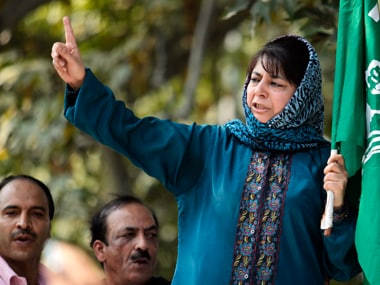 Jammu and Kashmir Chief Minister Mehbooba Mufti. Reuters