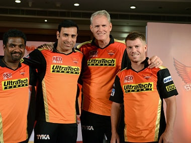 Tom Moody (Right Center). AFP