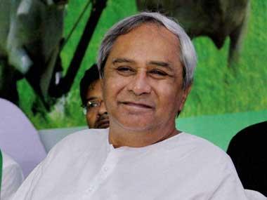 Odisha CM Naveen Patnaik. PTI