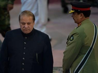 File image of Nawaz Sharif and Raheel Sharif. AFP