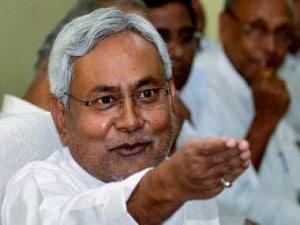 Bihar Chief Minister Nitish Kumar. PTI
