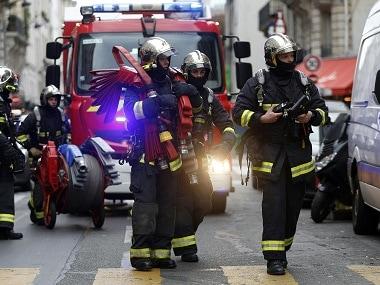 Representational image of Paris firefighters. AFP