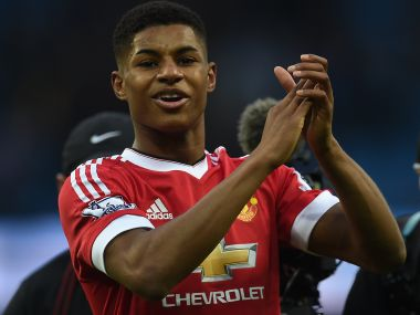 Marcus Rashford is set for his first start of the season. AFP file image
