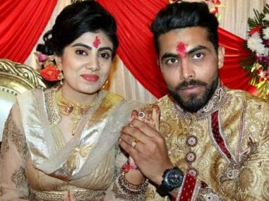 Ravindra Jadeja's wife Riva Solanki assaulted by policeman after car accident in Jamnagar