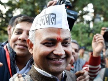 Somnath Bharti. AFP