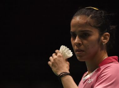 Saina Nehwal in action during Malaysia Open. AFP