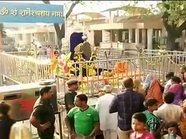 Shiv Sena calls Maharashtra govt's decision to take control of Ahmednagar's Shani Shingnapur temple a 'political move'