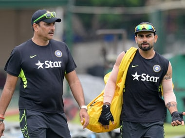 The Ravi Shastri-Virat Kohli combination has done well for India. AFP