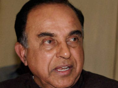 Subramanian Swamy. File photo. PTI
