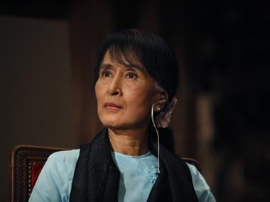Aung San Suu Kyi. File photo. AP