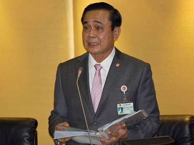 File photo of Thailand's Prime Minister Prayuth Chan-ocha. AP