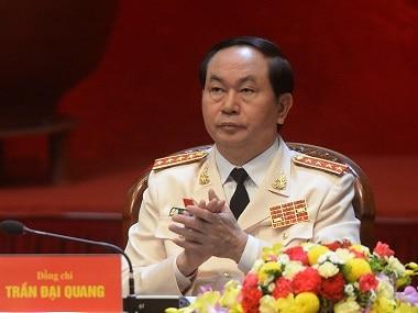 File image of Vietnam's new president Tran Dai Quang. AP
