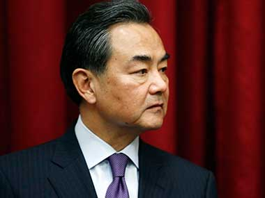 Chinese foreign minister Wang Yi. Reuters