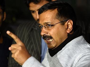 Delhi Chief Minister Arvind Kejriwal. AFP