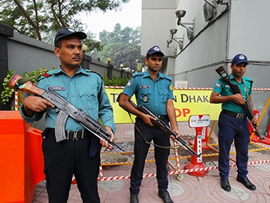 Bangladesh police. File photo. Reuters