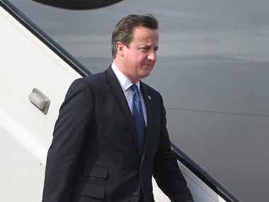 A file photo of David Cameron. PTI