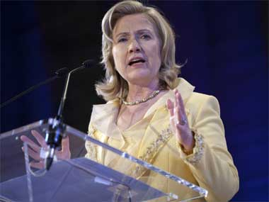Democratic frontrunner Hillary Clinton. Reuters.