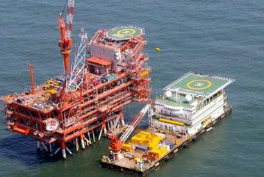 KG D6 oilfield, Reuters