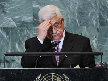 File image of Palestinian President Mahmud Abbas. Getty images