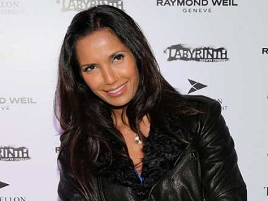Padma Lakshmi has called Donald Trump a 'racist buffoon'. Image from IBNlive