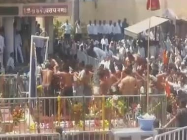 Debunking 400-year-old tradition: On Gudi Padwa, first group of women enter Shani Shingnapur temple and pray