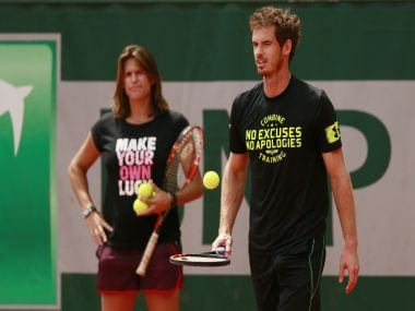 Murray is seeded second at the French Open. Reuters