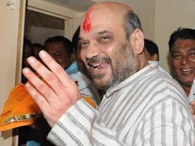 A file photo of Amit Shah. AFP