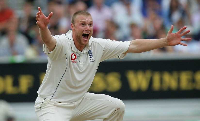 Andrew Flintoff. Getty Images