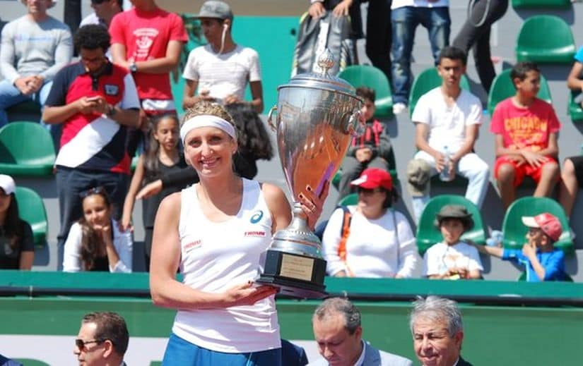 First title of 2016 for Timea Bacsinszky. Image courtesy: Twitter/@WTA