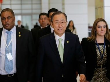 File image of UN chief Ban ki Moon. Reuters