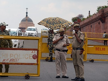 File photo of Delhi police. AFP