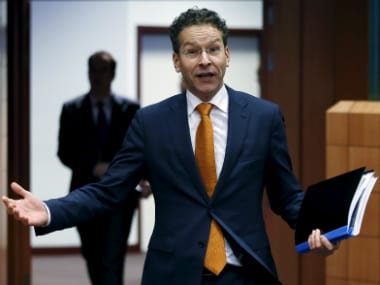 Dutch Finance Minister and Eurogroup President Jeroen Dijsselbloem. Reuters