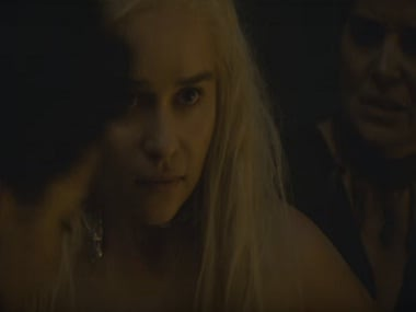 Emilia Clarke in 'Game of Thrones' season 6