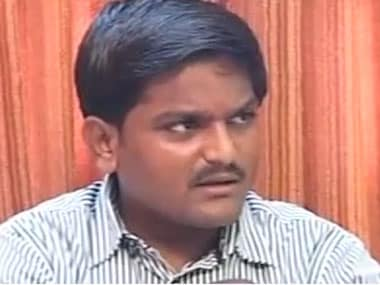 File image of Hardik Patel. CNN-IBN