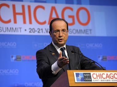 french President Francois Hollande. AP