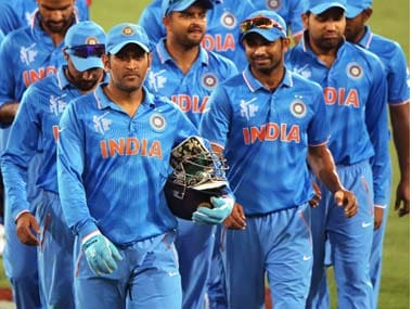 Indian cricket team. Getty