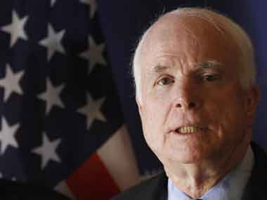 A file photo of John McCain. Reuters