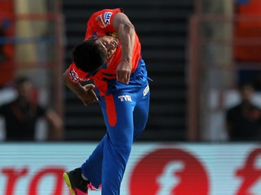 Spinner contortionist? Shivil Kaushik in action. BCCI