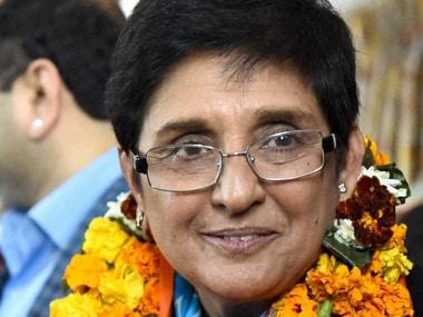A file photo of Kiran Bedi. PTI